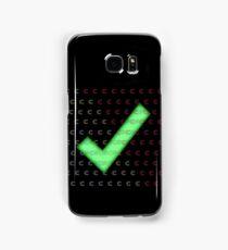 Nerd Check c# Samsung Galaxy Case/Skin