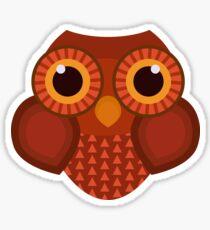 Owl cartoon Sticker