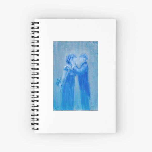 Here's Looking At You by Donna Williams Spiral Notebook