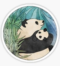 Panda Love Sticker