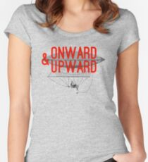 Onward And Upward Women's Fitted Scoop T-Shirt