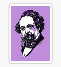 Charles Dickens  Sticker