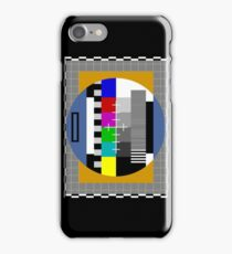 Test Pattern iPhone Case/Skin