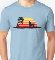 Chihuahua on Sunset Beach T-Shirt