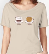 Espresso/Depresso Women's Relaxed Fit T-Shirt