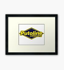 PUTOLINE RACING LUBRICANT Framed Print