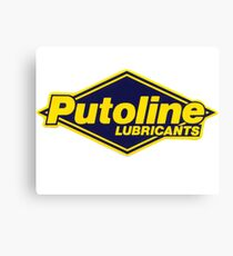 PUTOLINE RACING LUBRICANT Canvas Print