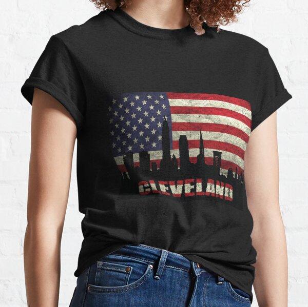 Cleveland City USA Flag Classic T-Shirt