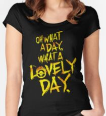 Mad Max Fury Road What A Lovely Day!  Women's Fitted Scoop T-Shirt