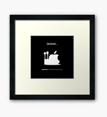 Snoading... Framed Print