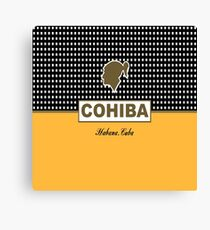 COHIBA Havana Cuba Cigar Canvas Print