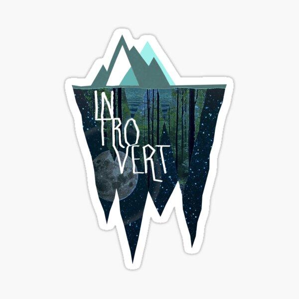 Introverti Sticker
