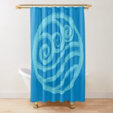 Water Nation Shower Curtain