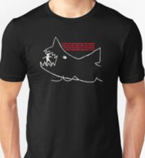 Jaws - Quints chalk drawing T-Shirt