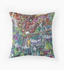 Birds Sing - Kerry Beazley Throw Pillow