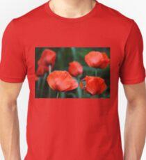 Where Poppies Grow T-Shirt
