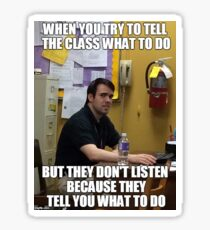 Mr. Tompkins Meme Sticker