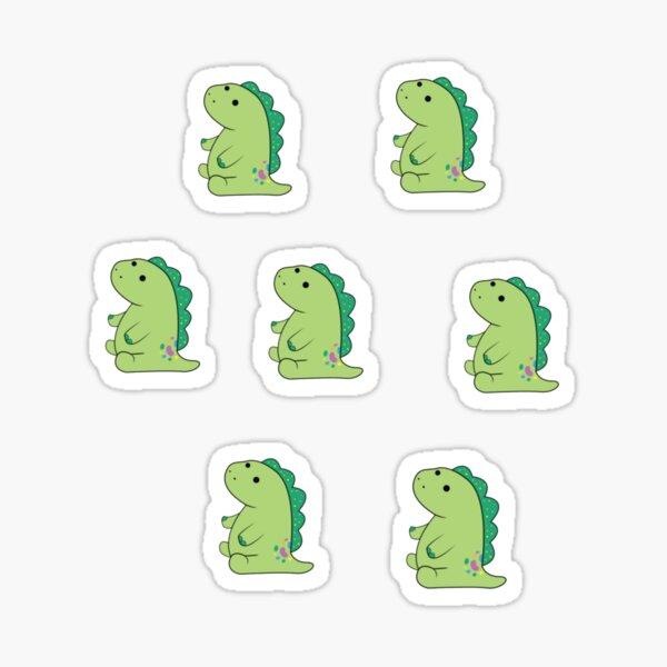 7 moriah elizabeth pickle the dinosaur stickers  Sticker