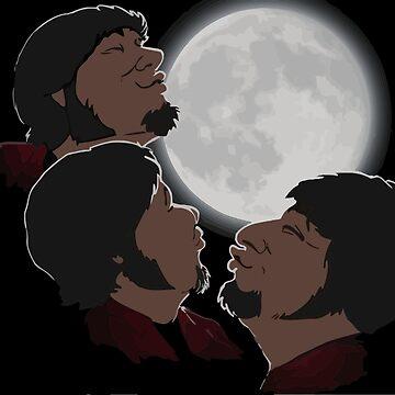 Jontron - Three Jon Moon by HiImpactDolphin