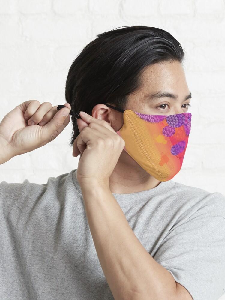 Alternate view of Purple Halftone Bubbles Mask