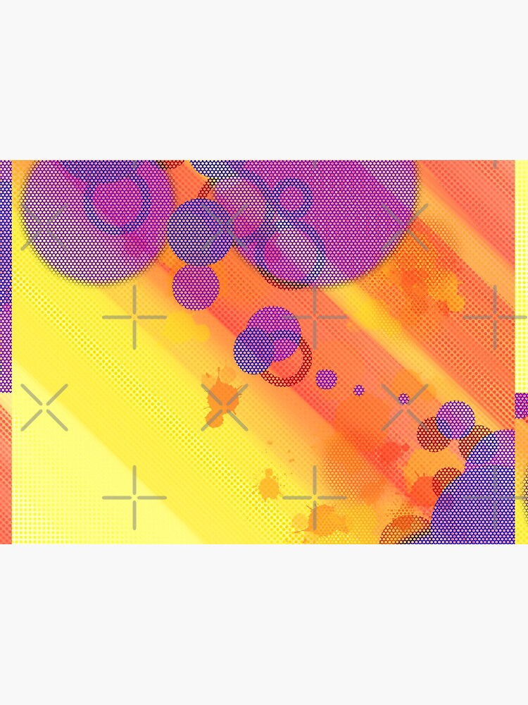 Summer Halftone Bubbles by that5280lady