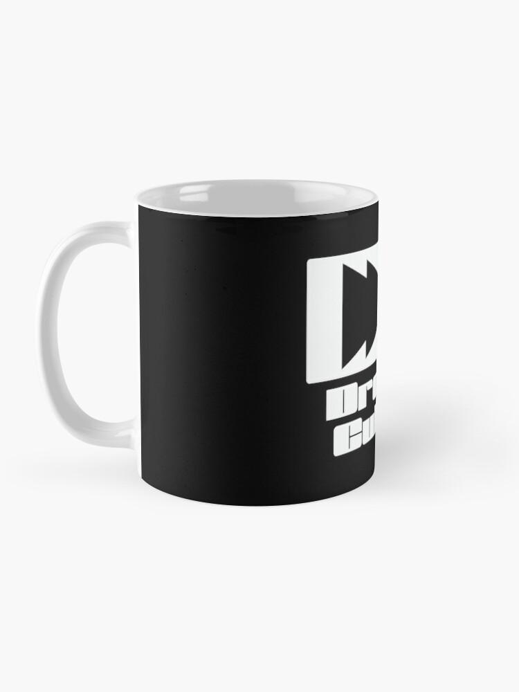 Alternate view of The Dropped Culture Podcast Original Logo Mug