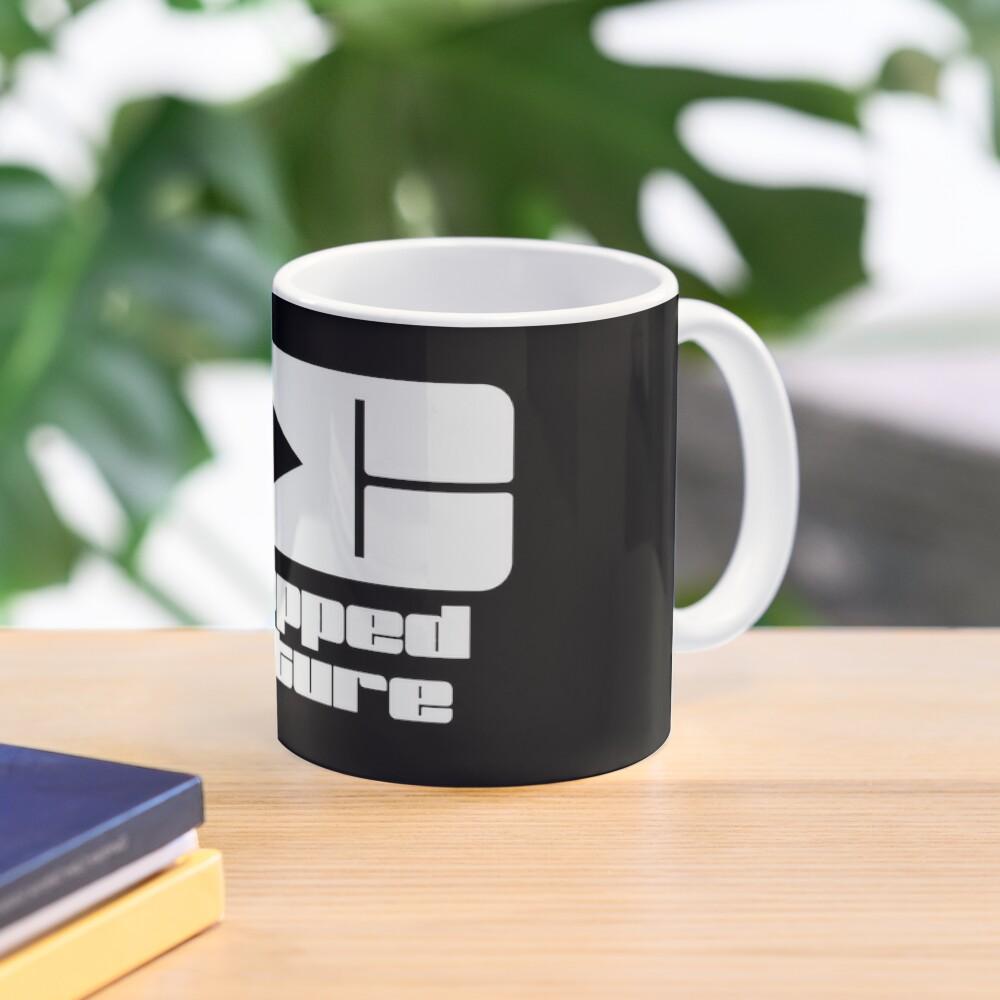 The Dropped Culture Podcast Original Logo Mug