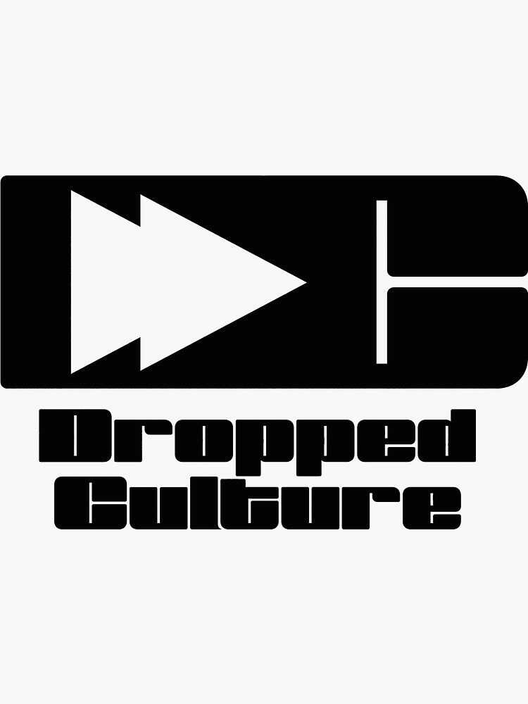 The Dropped Culture Podcast Original Logo by BAFunkenstein