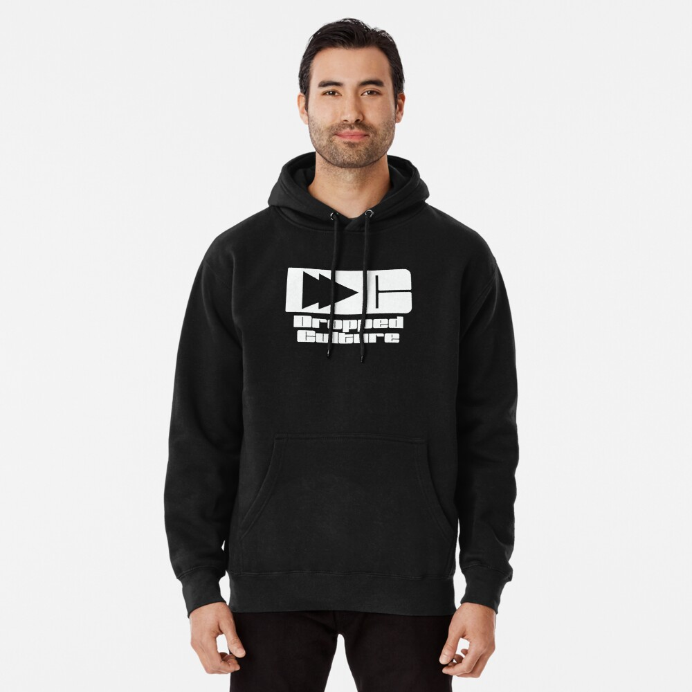 The Dropped Culture Podcast Original Logo Pullover Hoodie