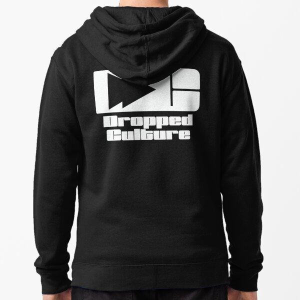 The Dropped Culture Podcast Original Logo Zipped Hoodie