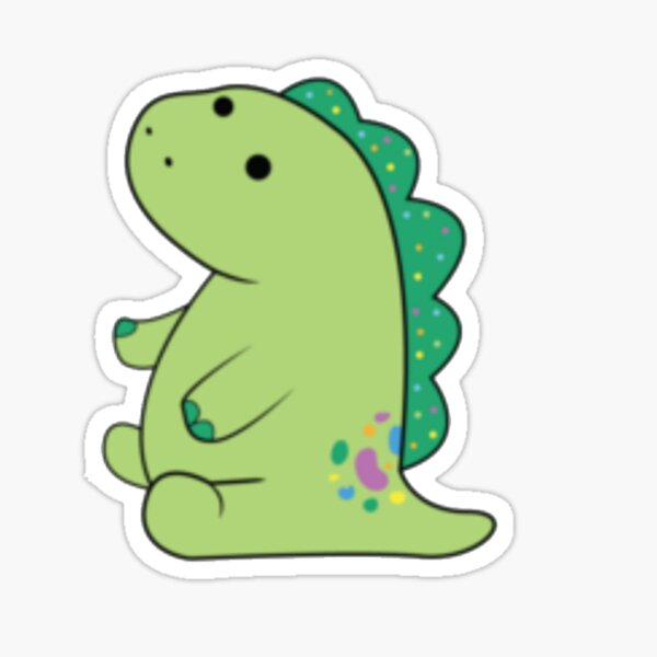Moriah Elizabeth pickle the dinosaur Sticker