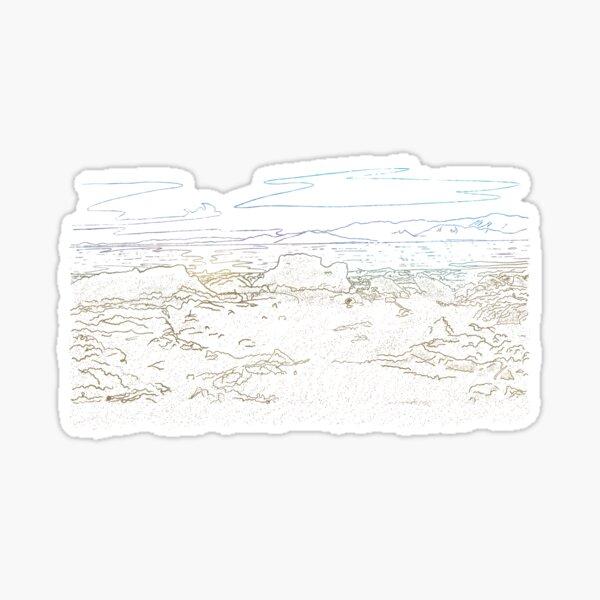 Salton Sea 1 Sticker