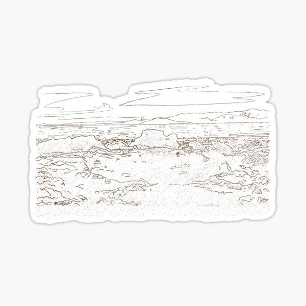Salton Sea 2 Sticker