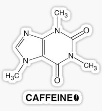 CAFFEINE  Sticker