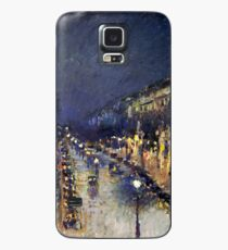 Camille Pissarro City at Night Case/Skin for Samsung Galaxy