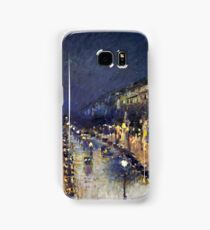 Camille Pissarro City at Night Samsung Galaxy Case/Skin