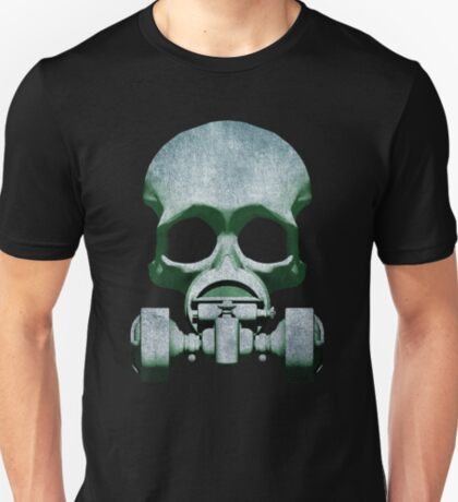 Steampunk / Cyberpunk Skull Gas Mask T-Shirt