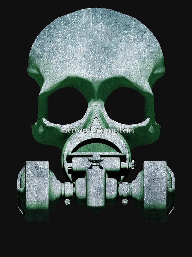Steampunk / Cyberpunk Skull Gas Mask by SC001