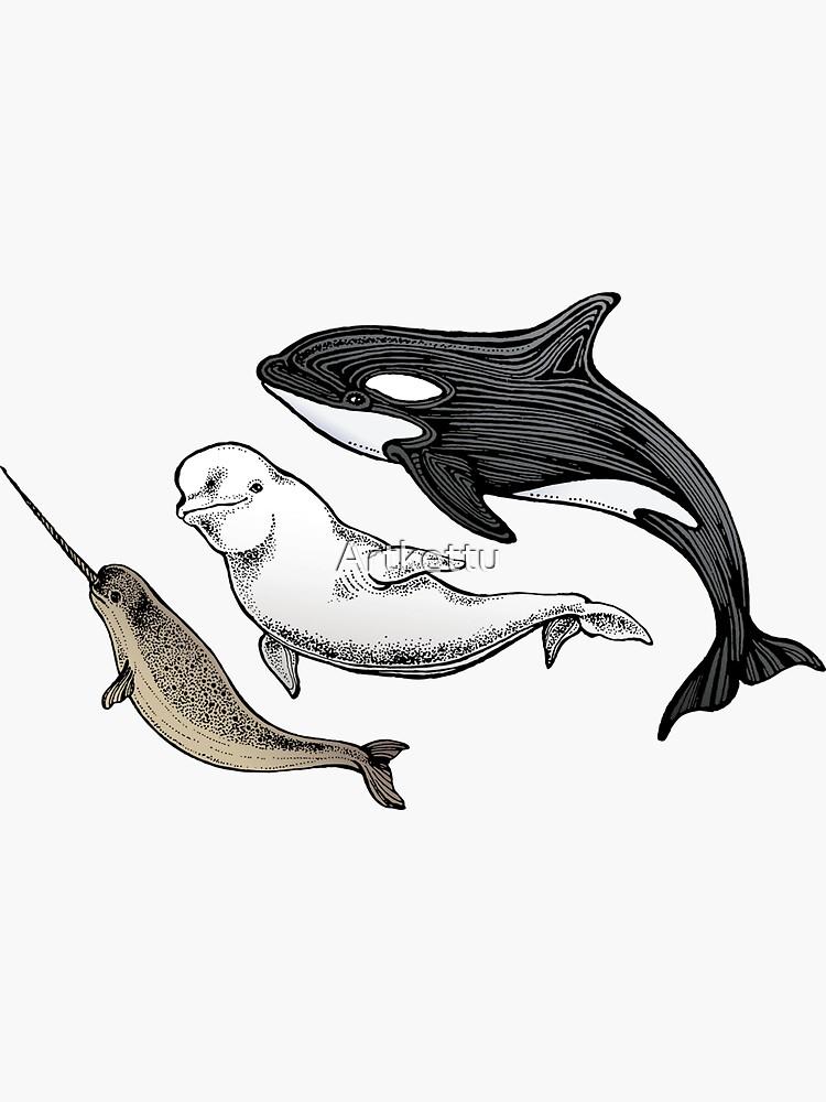 Drei Ozean Freunde von Artkettu