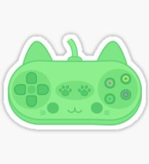 Cute kitty controller Sticker