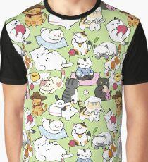 Neko Atsume! Graphic T-Shirt
