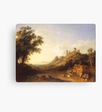 Jacob Philipp Hackert Landscape Canvas Print