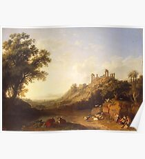Jacob Philipp Hackert Landscape Poster