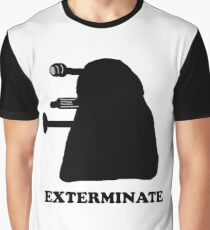 EXTERMINATE DALEK IN THE SHADOWS Graphic T-Shirt