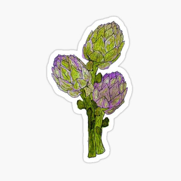 Botanical - Artichoke Sticker