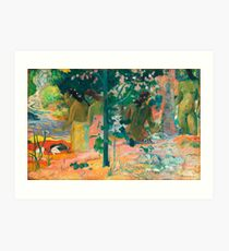 Paul Gauguin Women by the Lake Art Print