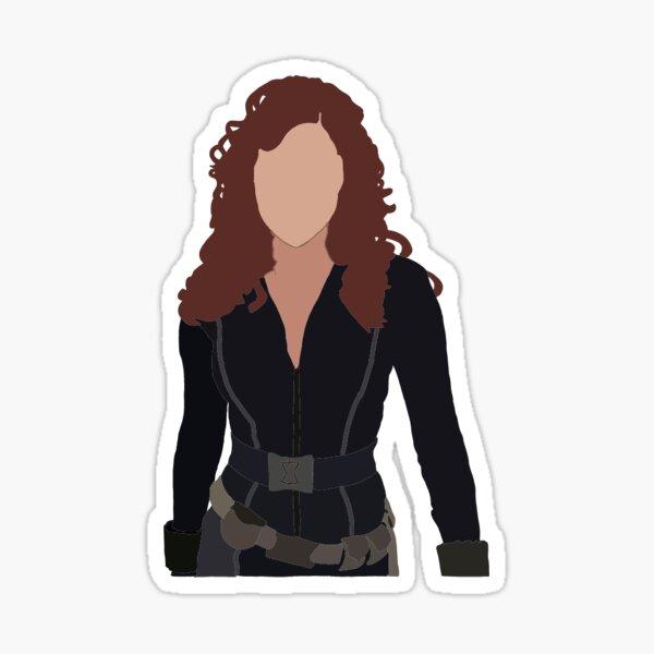 Black Widow - Natasha Romanoff Sticker