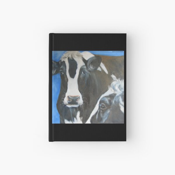 Two Cows Hardcover Journal