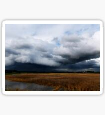 Storm Clouds Over the Plains Sticker