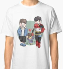 Dan And Phil x Undertale Classic T-Shirt